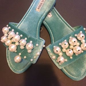 Cape Robbin Flip Flops with Pearls